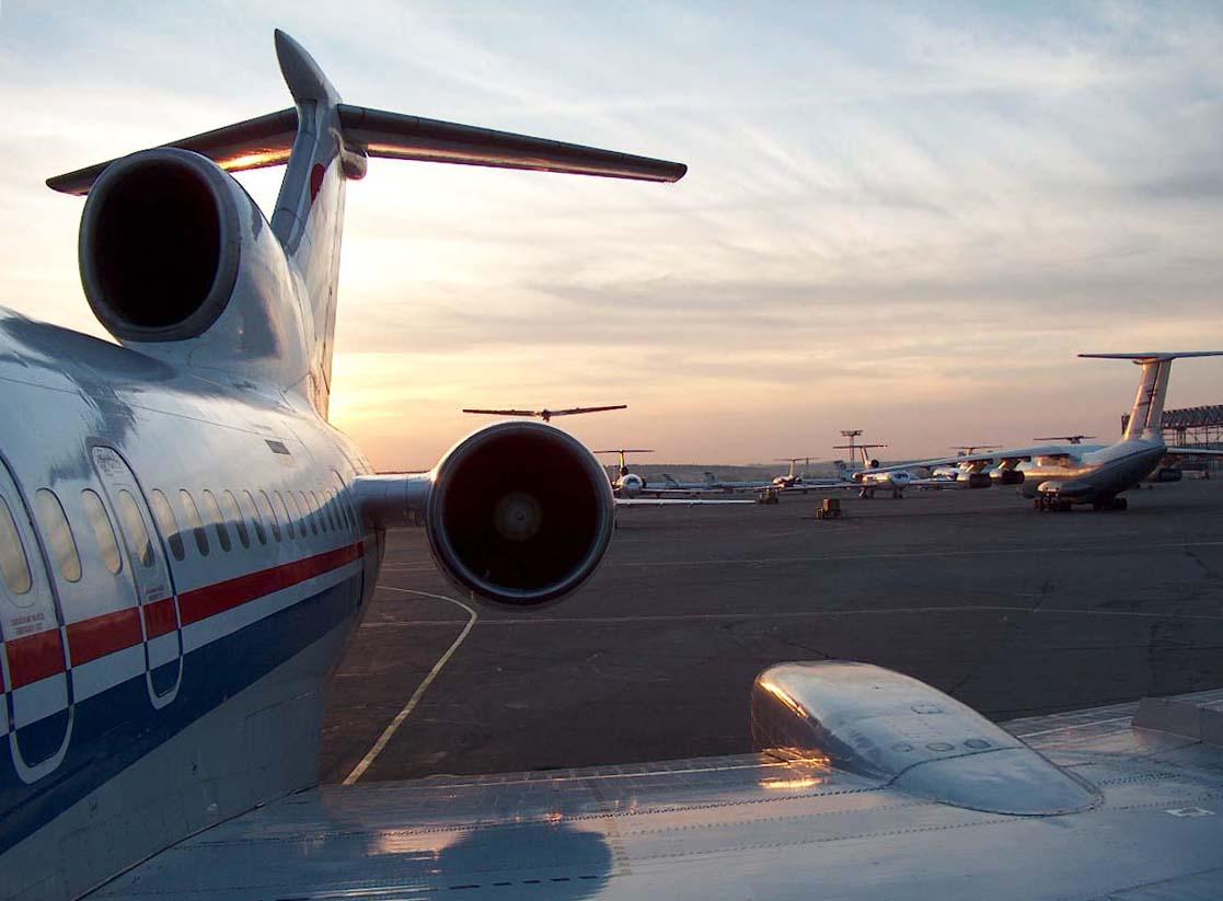 Самолеты современные пассажирские и
