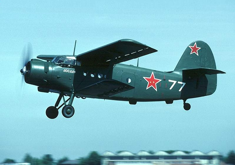 Легкий транспортный самолет ан 2